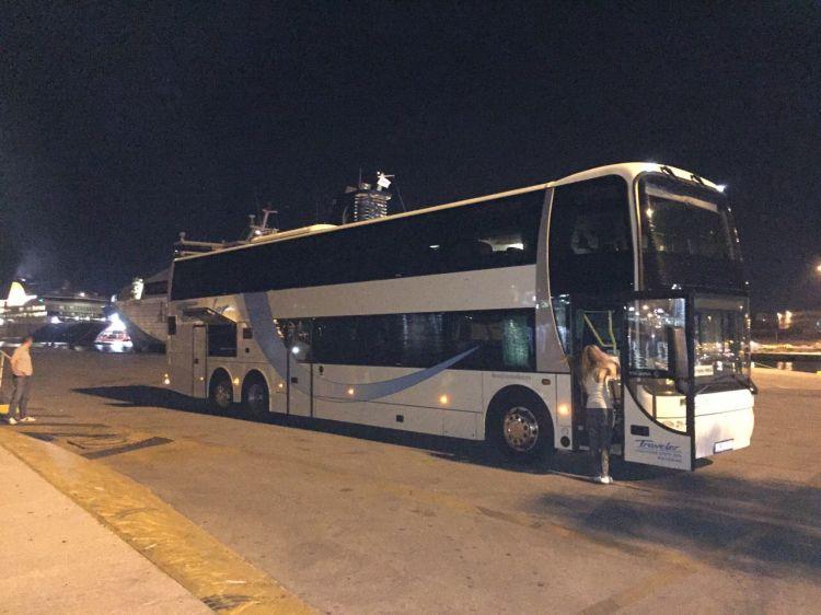 Grčka Manga Trip, Traveler Autobus