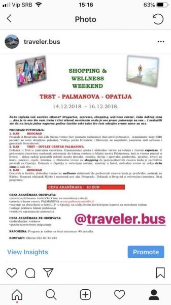 Trst Palmanova Opatija - Shopping Wellness Weekend