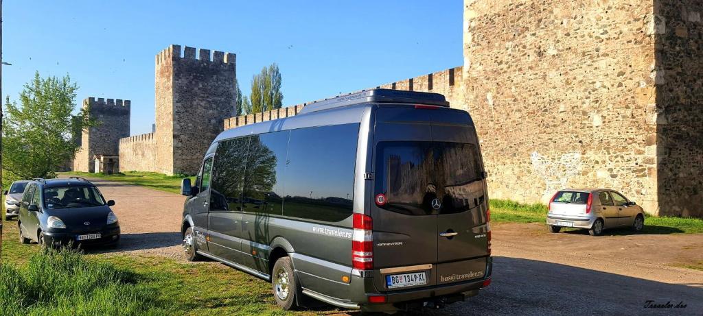 Sa Mega Travelom u obilasku tvrđave u Smederevu