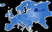 Mapa Evrope Traveler Autobusi