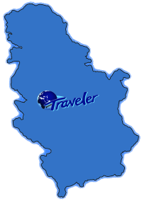 Mapa Srbije Traveler Autobusi Iznajmljivanje Najam